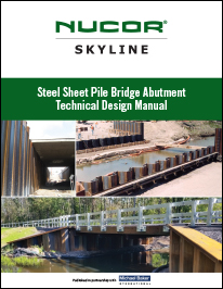 Steel Sheet Pile Bridge Abutment Technical Design Manual