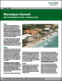 Case Study: Manalapan Seawall