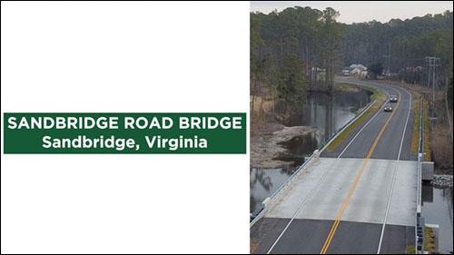 Sandbridge Road Bridge